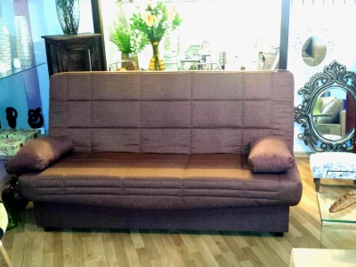 Tesmar - Click Clack - £240 - Brown Sofa bed (3)